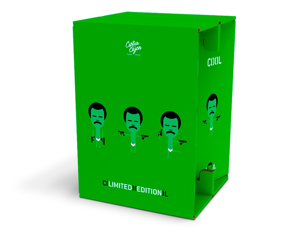 CZ45 Prima COOL NARCOS GREEN 3D 1 front spt
