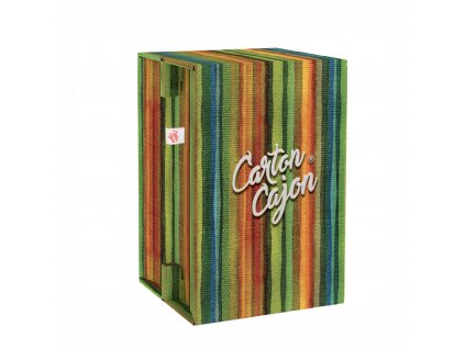 Carton Cajon Happy Stripes 2