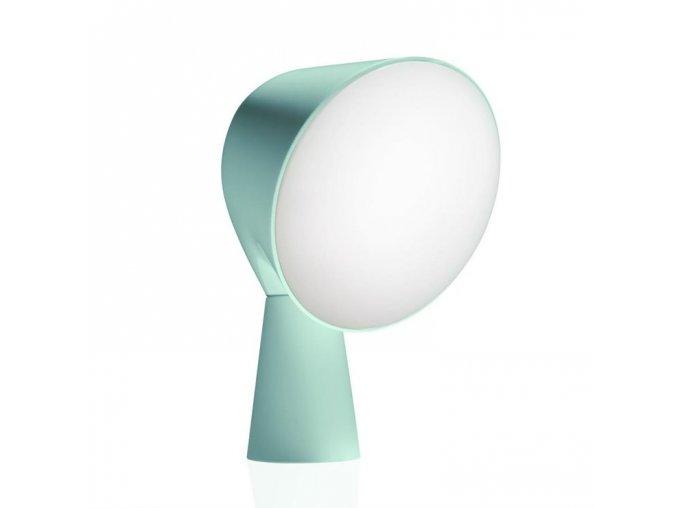 d binic lampe a poser h20cm foscarini vert d eau front 1142
