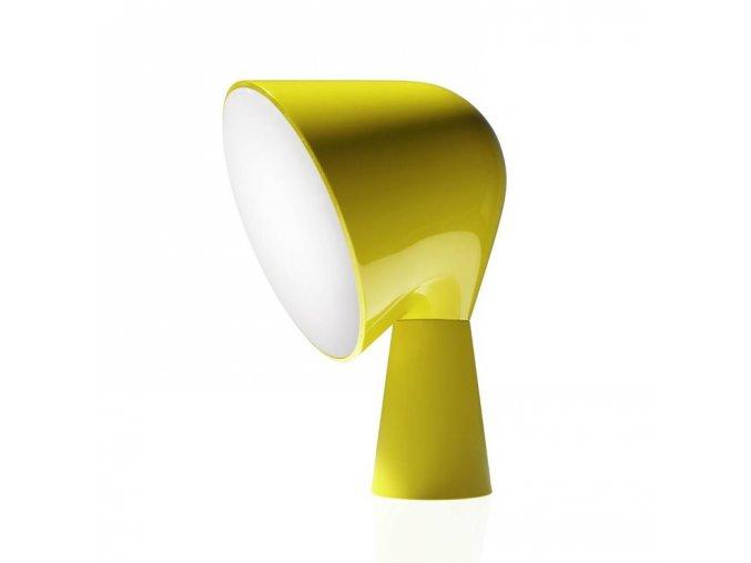 d binic lampe a poser h20cm foscarini jaune front 15