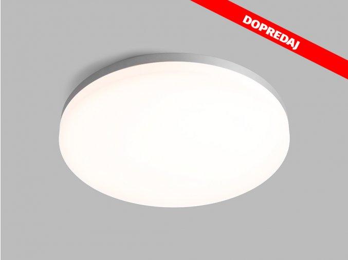 61571 6 led2 round 40 dim silver