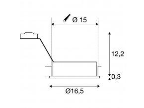 106178 slv 111370 new tria i qrb kruhova cesany hlinik 12v g53 75w 30