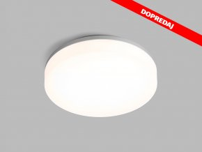 61487 8 led2 round 22 ip44 silver