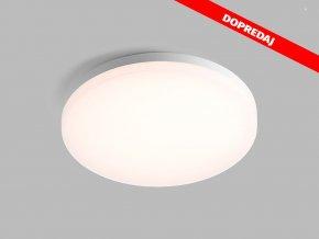 61496 led2 round 27 white stropne biele