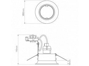 71600 astro 1249003 minima round adjustable biela