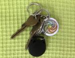 klíče s mandalou