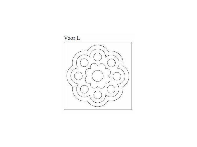 Samolepky pro mandalové pískování (10x10 cm)