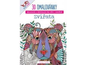3D omalovánky - zvířata