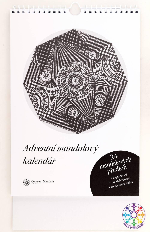 Adventní mandalový kalendář adventní kalendář