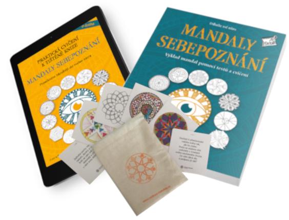 Mandaly sebepoznání kniha s kartami a e-bookem