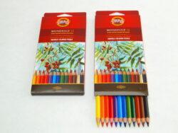 Akvarelové pastelky 12