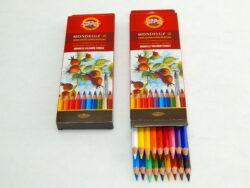 Akvarelové pastelky 18