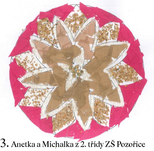Obraz mandaly v lehkém plastovém rámu 3