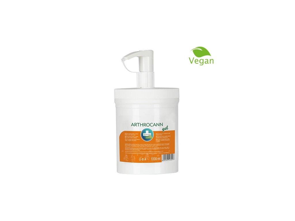 Produkty na web 500x500px 2019 CZ Arthrocann gel PROFI