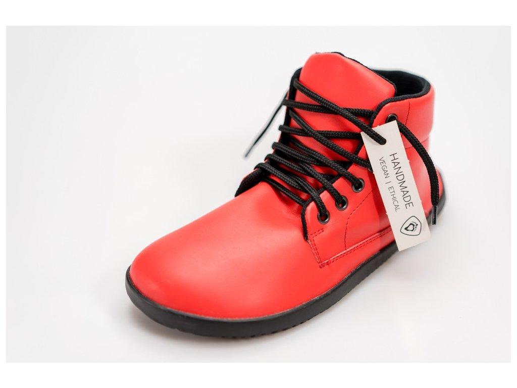 Ahinsa Sundara Ankle Comfort Červená