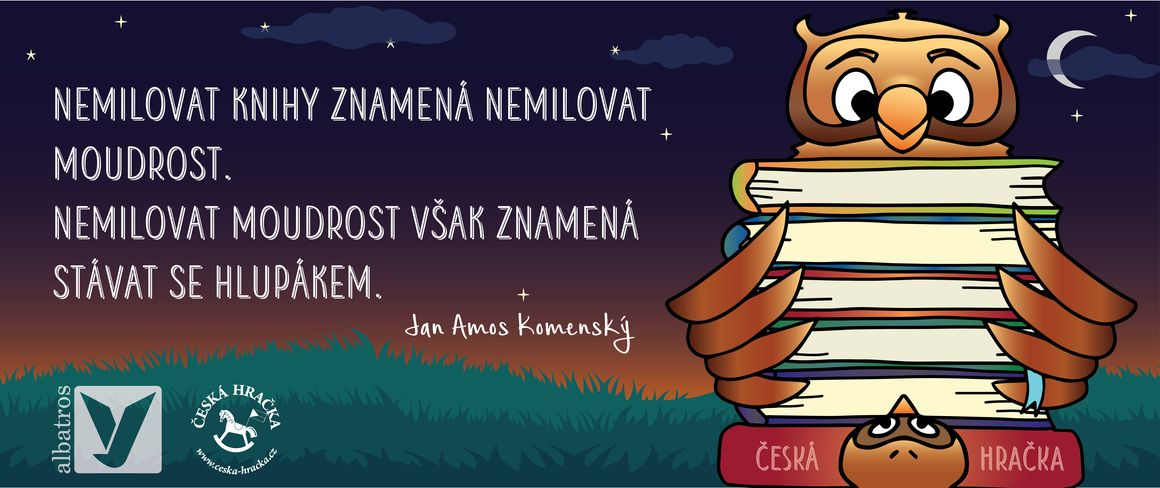 Nabídka dětských knih nakladatelství Albatros