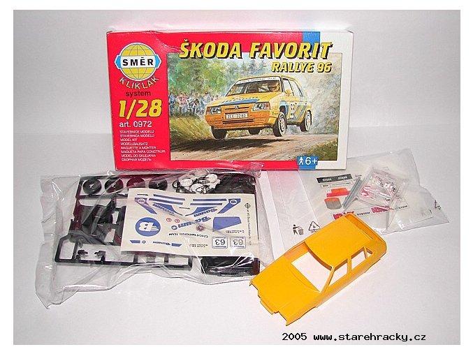 4495SMER Favorit KLIKKLAK Rallye 96 stavebnice