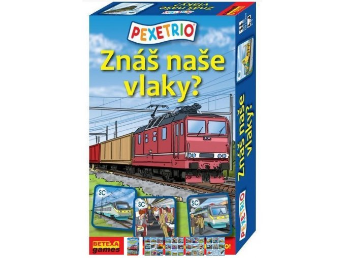 Pexetrio Vlaky