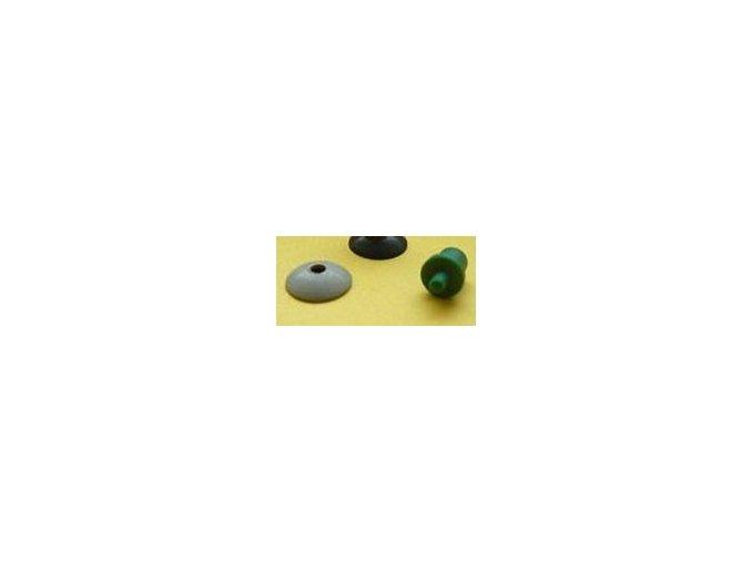 Mehano ovl - tlačítko zelené