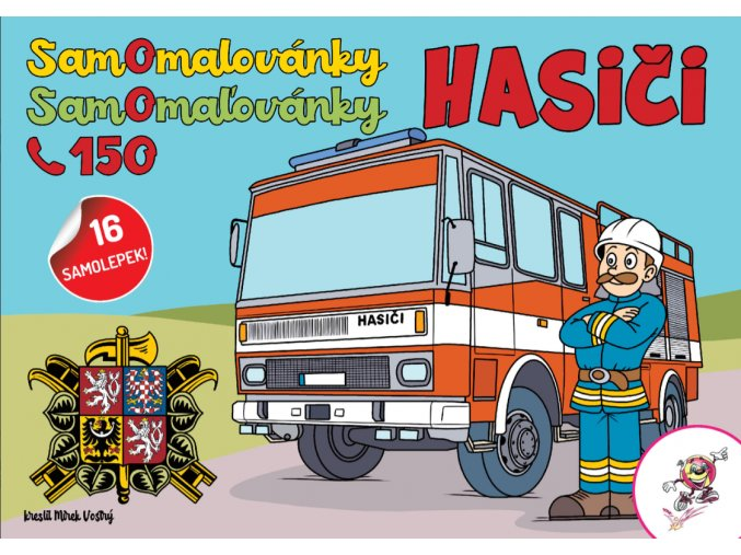 samoomalovanky hasici