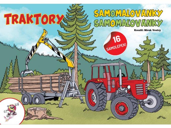 samoomalovanky traktory