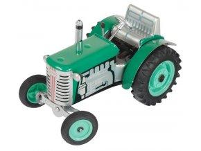 Traktor Zetor zelený