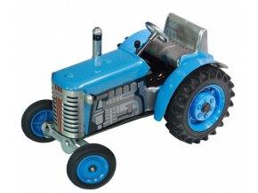 Traktor Zetor modrý