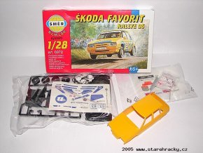 4495SMER Favorit KLIKKLAK Rallye 96 stavebnice