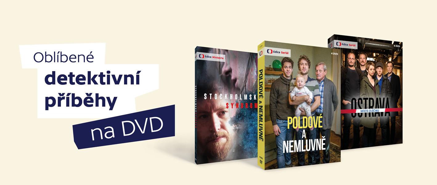 DVD detektivky