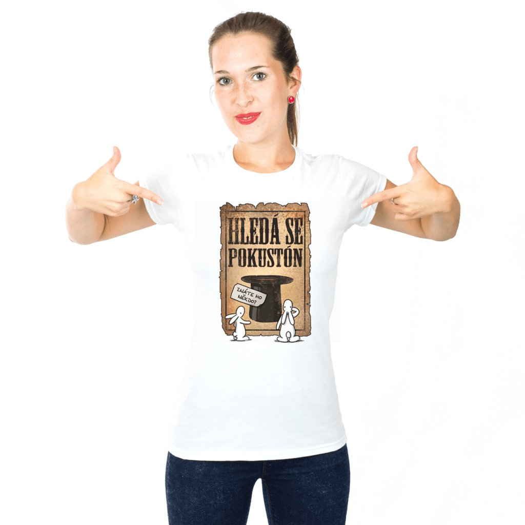 BB tričko dámské Hledá se Pokustón 1024x1024