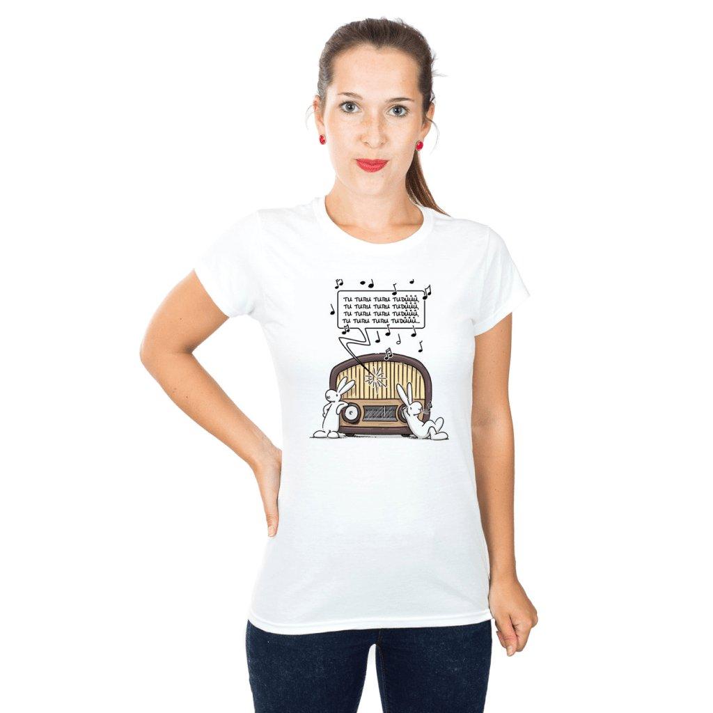 BB tričko dámské Poslouchají rádio 1024x1024