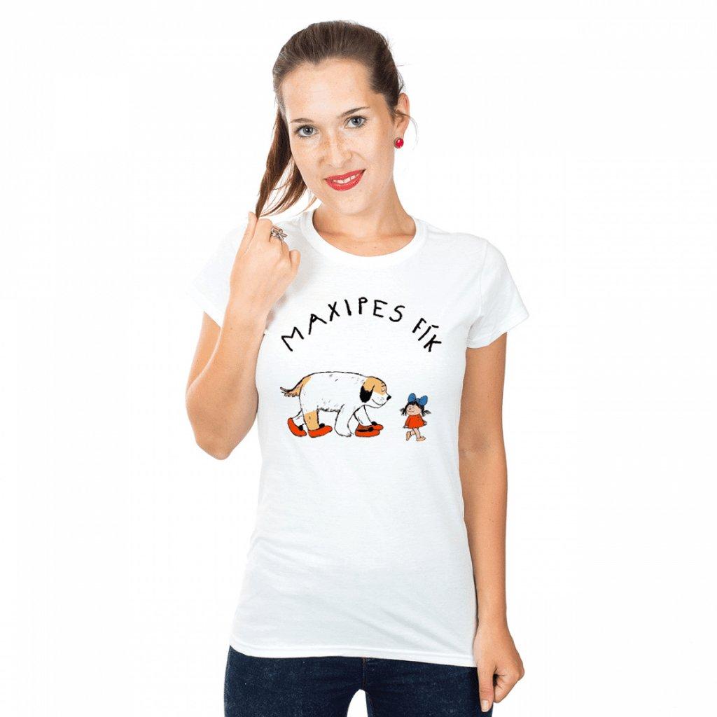 MF tričko dámské Maxipes Fík s Ájou 1024x1024