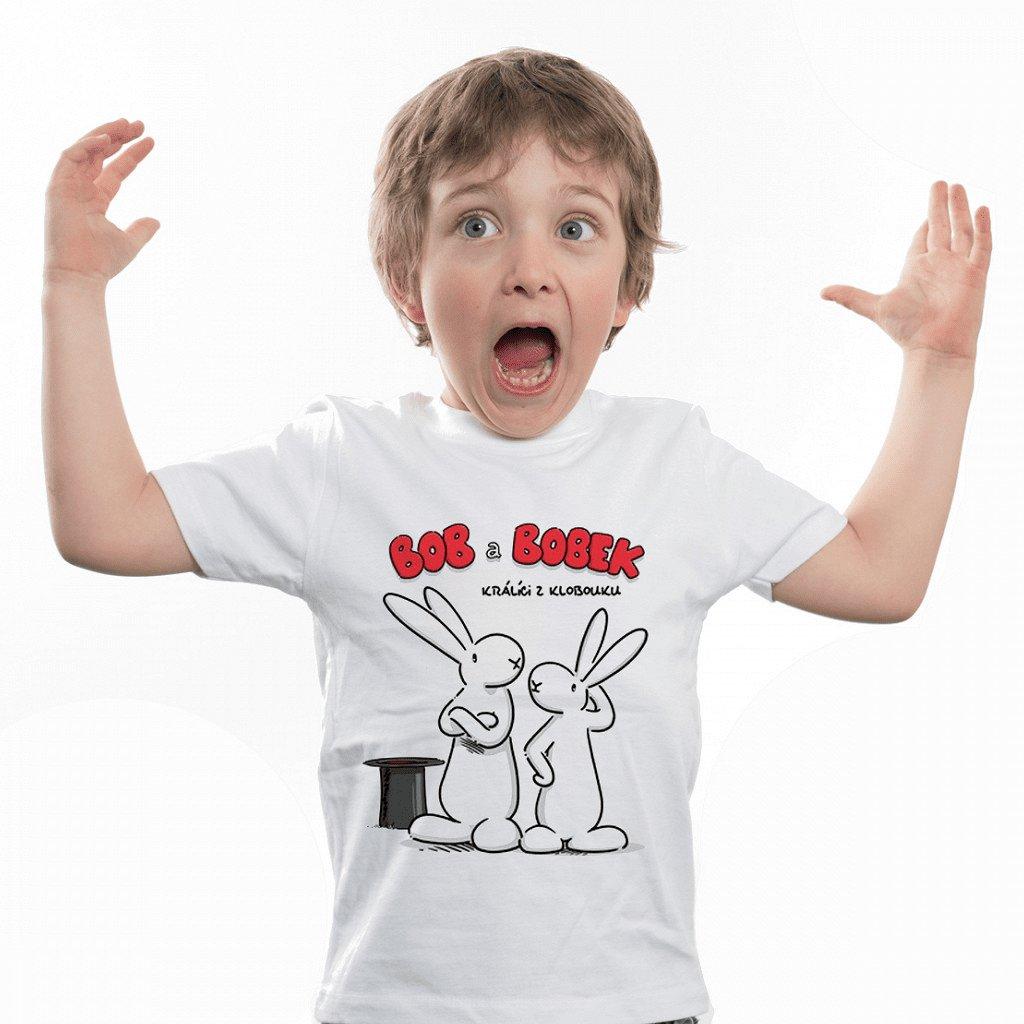 BB tričko dětské Králíci z klobouku 1 1024x1024