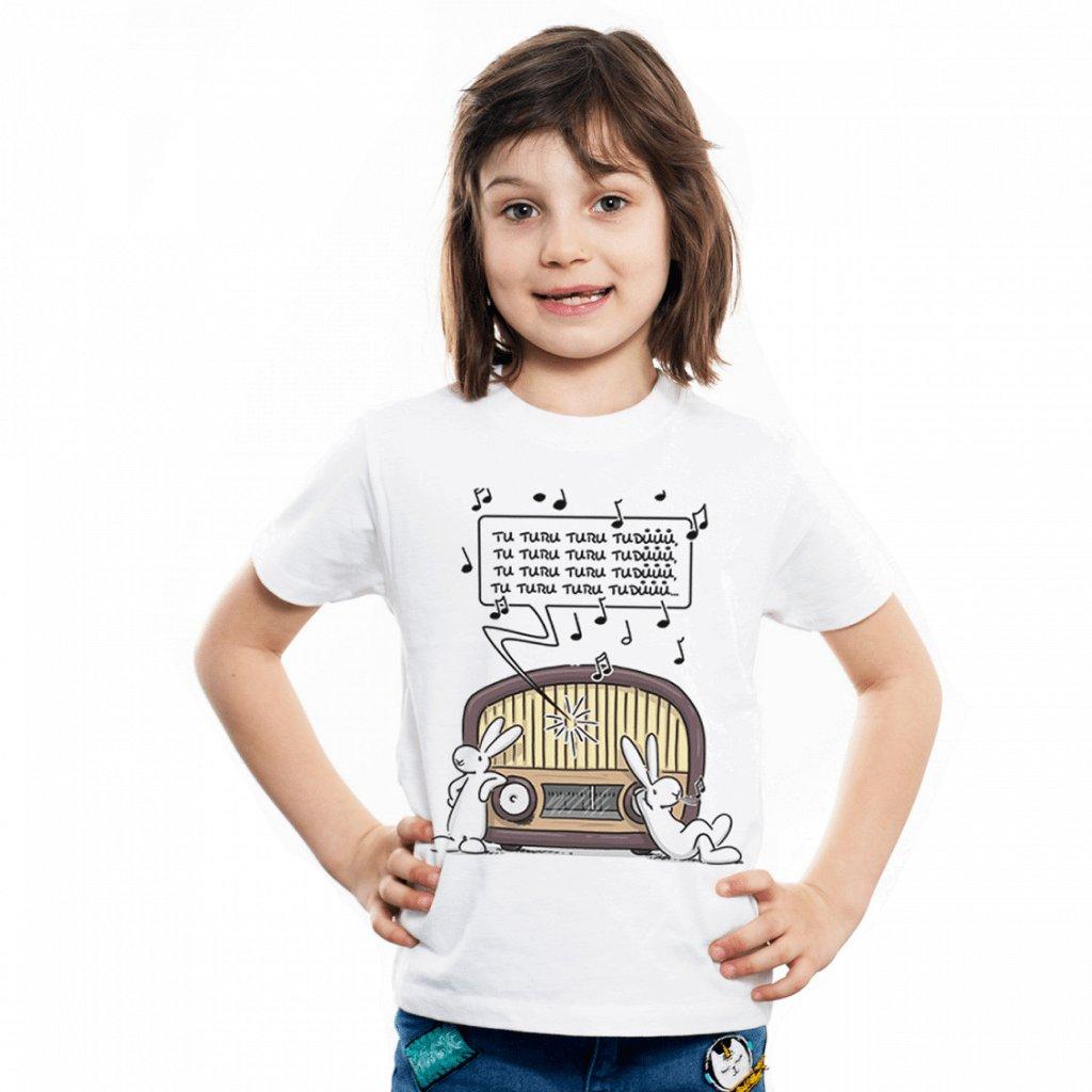 BB tričko dětské Poslouchají rádio 1 1024x1024