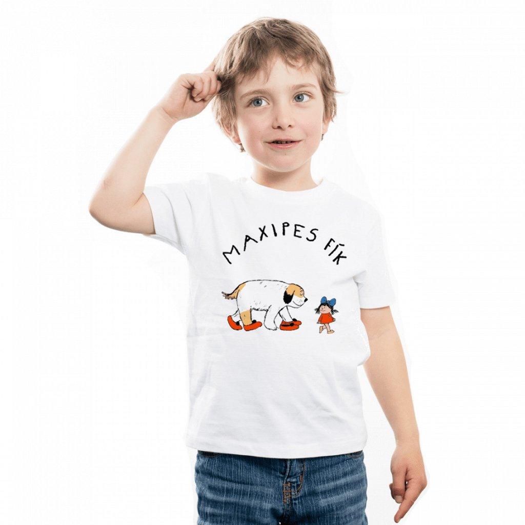 MF tričko dětské Maxipes Fík s Ájou 1024x1024