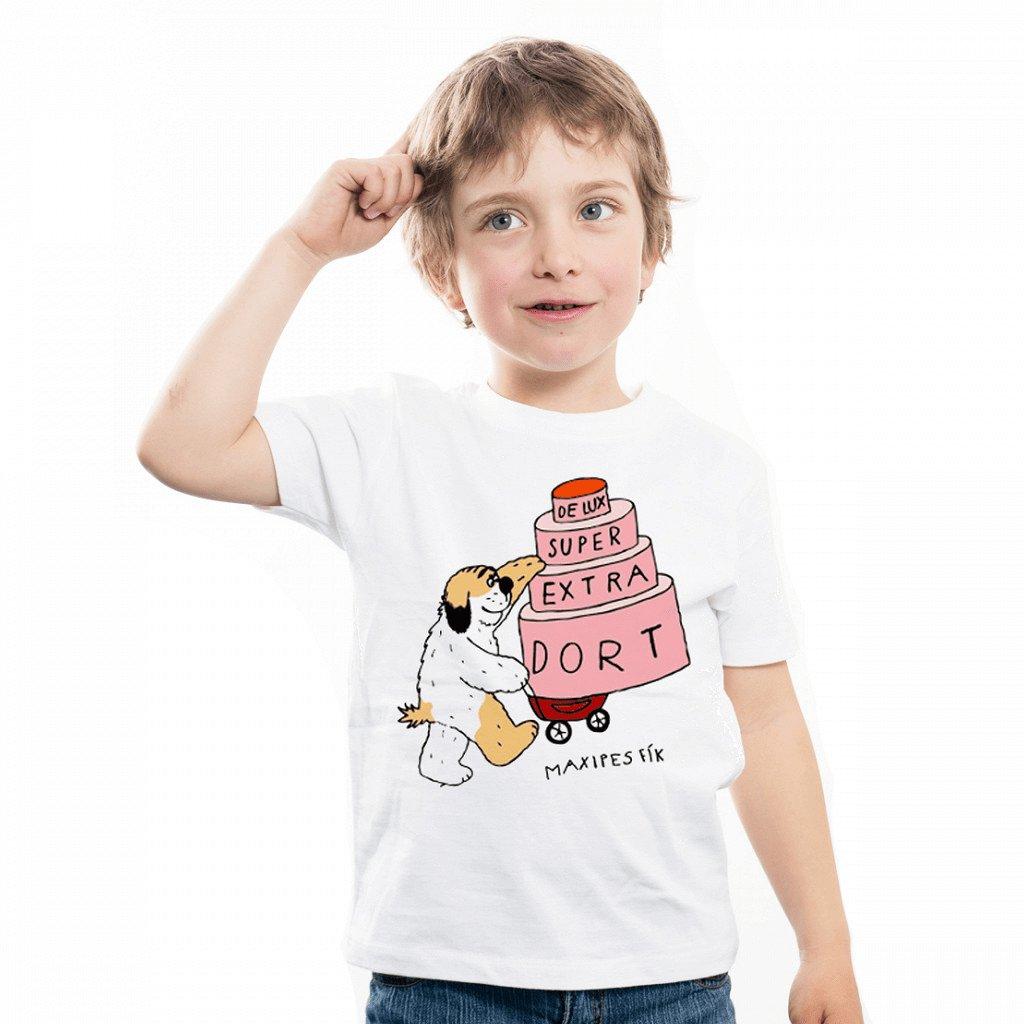 MF tričko dětské De lux super extra dort 1024x1024