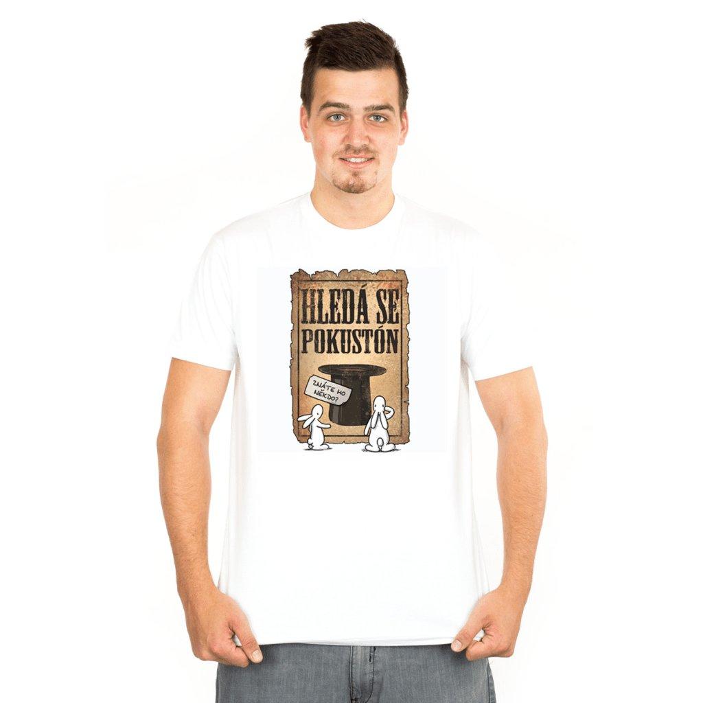BB tričko pánské Hledá se Pokustón