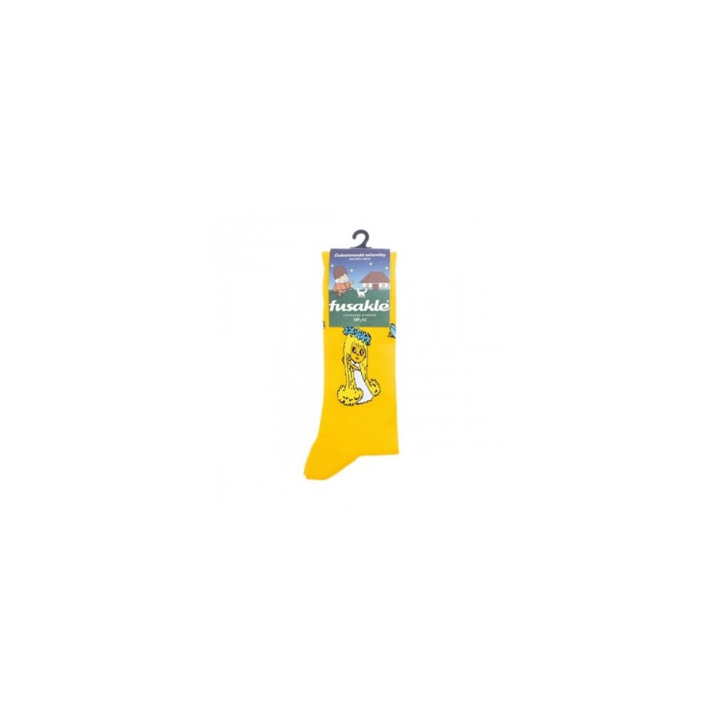 5235 ponozky s motivem vila amalka pro dospele
