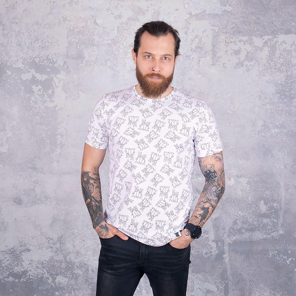 tričko pánské bílé web