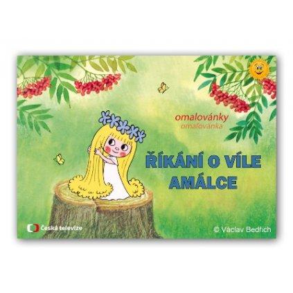 Omalovánky víla Amálka