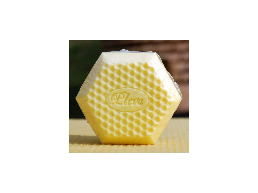 Pleva medové mýdlo 95g