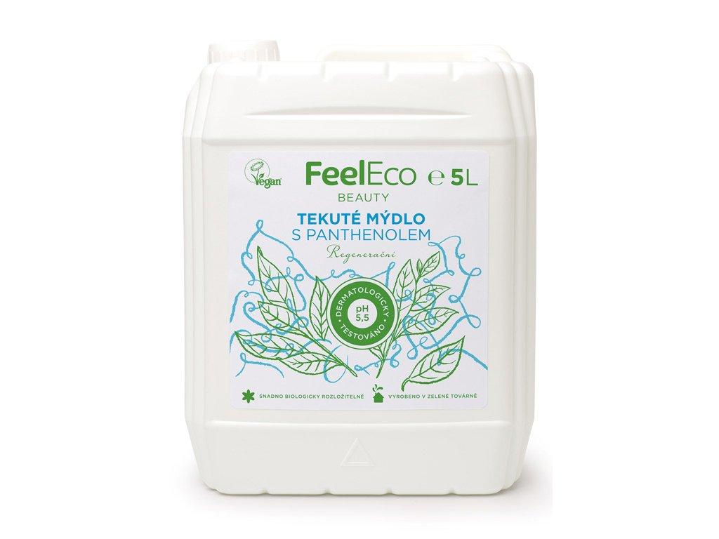 ceskejmed feel eco tekute mydlo panthenol 5L