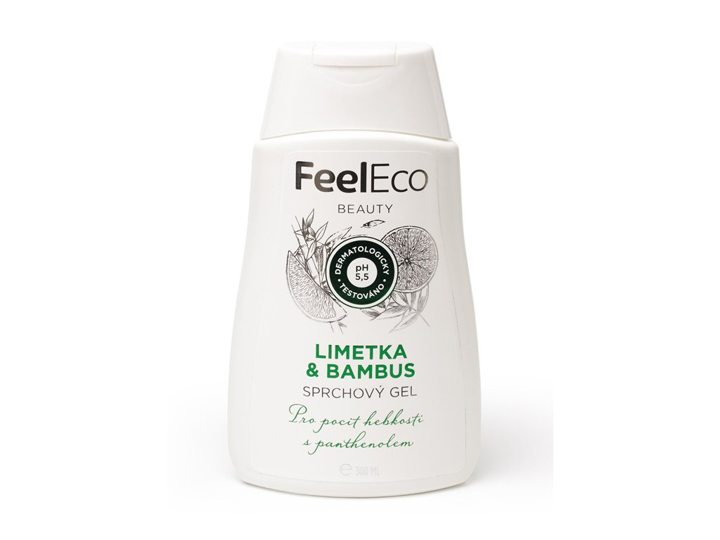 ceskejmed feel eco sprchovy gel limetka 300ML