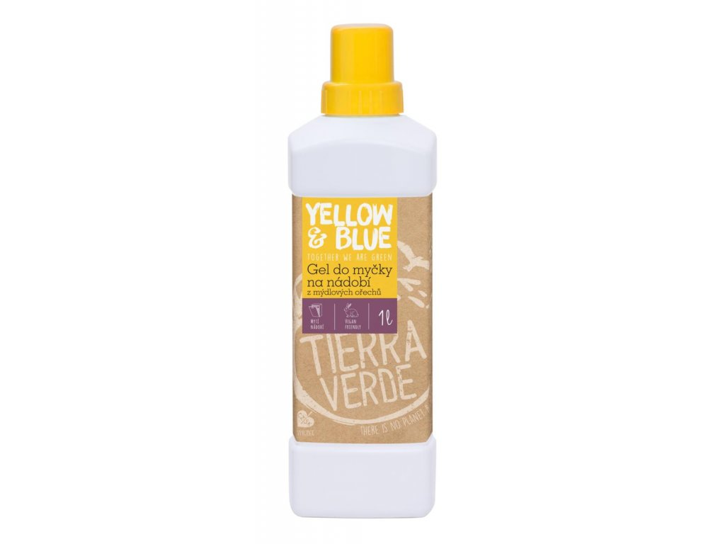 Tierra Verde – Gel do myčky (Yellow & Blue), 1 l
