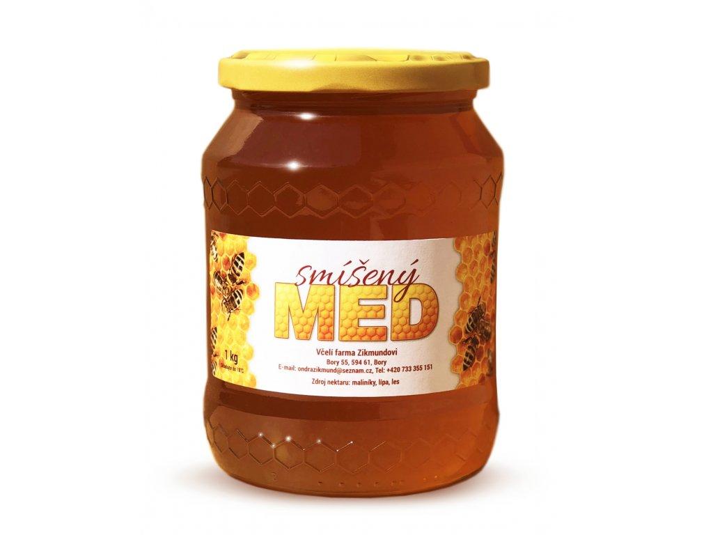 honey mixed
