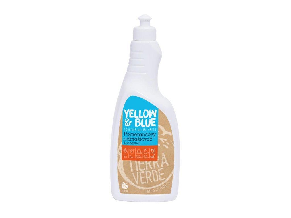 Tierra Verde – Pomerančový odmašťovač – koncentrát (Yellow & Blue), 750 ml