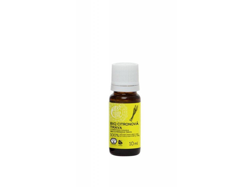 Tierra Verde – Esenciální olej BIO Citronová tráva, 10 ml