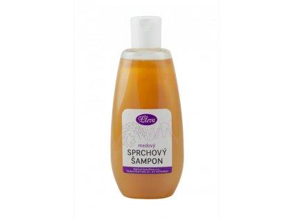 Pleva Sprchový šampon s medem 200g