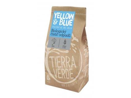 Tierra Verde – Biologický čistič odpadů (pap. sáček 500 g) (Yellow & Blue), 500 g