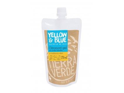 Tierra Verde – Citronový gel na vodní kámen (Yellow & Blue), 250 ml